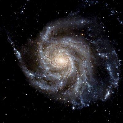 Fotomural Ver la imagen del sistema Galaxy aislado Elementos de esta imagen proporcionada por la NASA