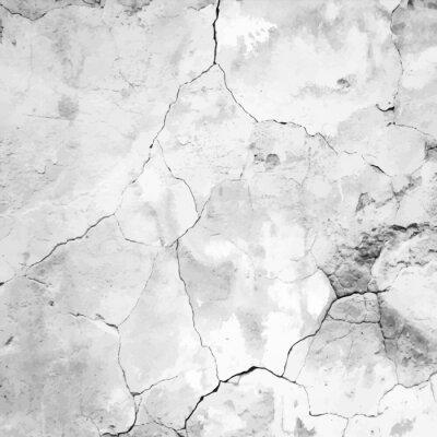 Fotomural viejo Yeso agrietado textura vector