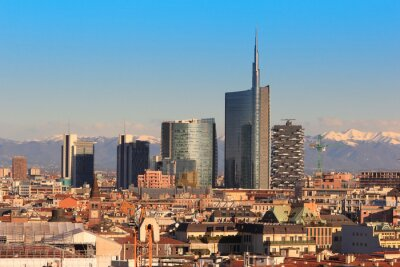 Fotomural Views of Milan, Italy