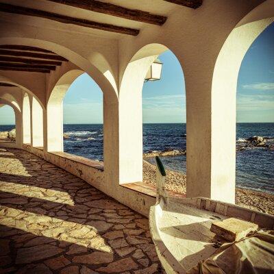 Fotomural Vintage Costa Brava