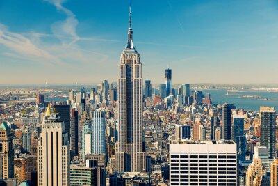 Fotomural Vista aérea de Manhattan