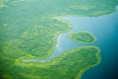 Fotomural Vista aérea del río Nilo