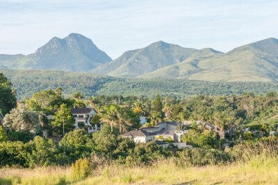 Fotomural Vista de George en Sudáfrica