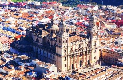 Fotomural Vista soleada de la Catedral de Jaén