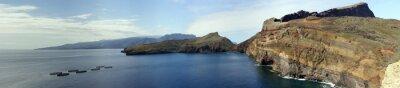 Fotomural Wanderung en el Halbinsel Ponta de Lourenco