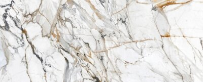 Fotomural White Cracked Marble rock stone marble texture wallpaper background
