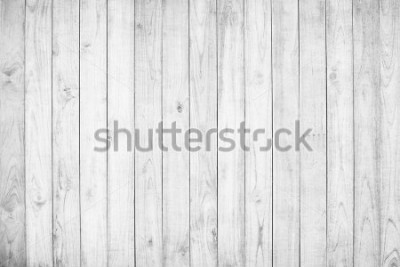 Fotomural White wood texture background