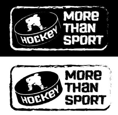 Fotomural Хоккейный принт на футболку