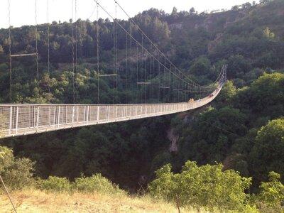 Fotomural мост Подвесной