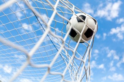 Fotomural Fútbol, Gol, Pelota de fútbol.