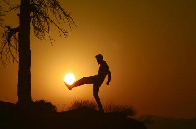 Fotomural yaratıcı fikirler cinco TARZI Futbol