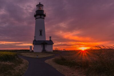Fotomural Yaquina Head lighthouse