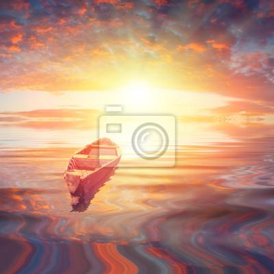 A la salida del sol
