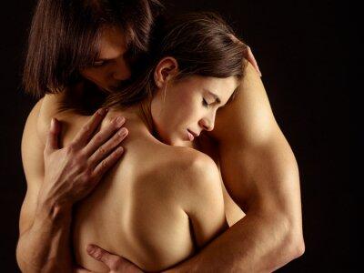 Póster Abrazo de amor