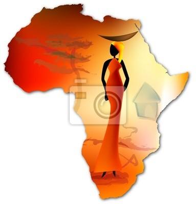 Póster Afrique