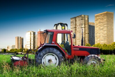 Póster agricolo contrasto