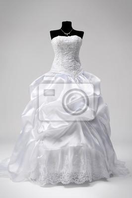 Alineada de boda en un maniquí