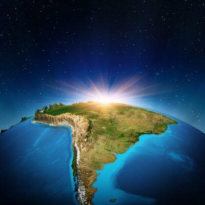 Póster América del Sur