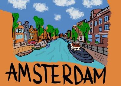 Póster Ámsterdam