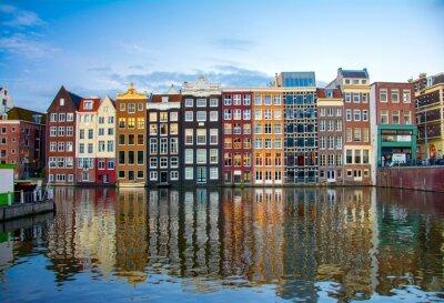 Póster Amsterdam, Holanda