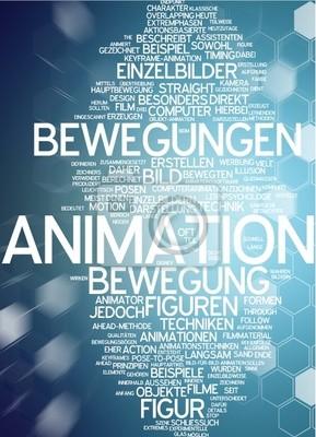 Póster Animación
