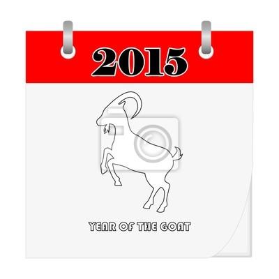 Año de la cabra - calendario