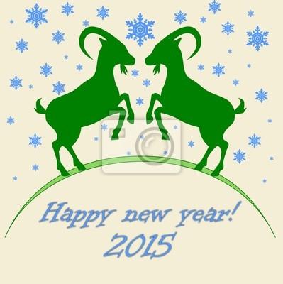 Año de la cabra - feliz año nuevo 2015