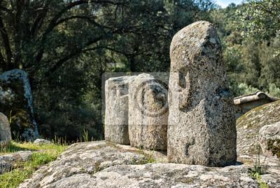 Antiguo sitio arqueológico de Filitosa, Córcega (Francia)
