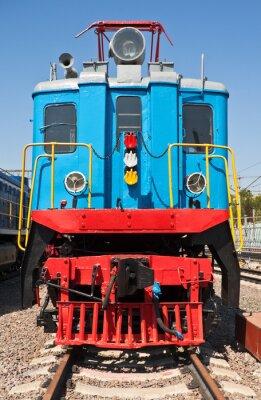 Póster Antiguo tren