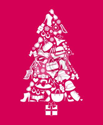 Resultado de imagen para Arbol de navidad con tacones