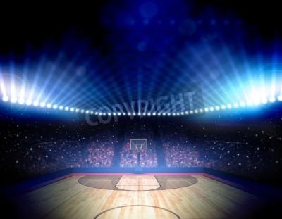 Póster Arena de Baloncesto
