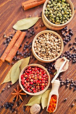 Póster aroma de especias