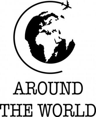 Póster Around the World