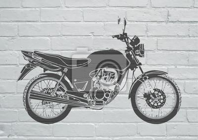 Arte callejero, moto