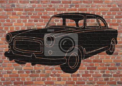 Arte callejero, voiture.