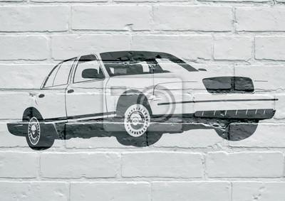 Arte de la calle, coche