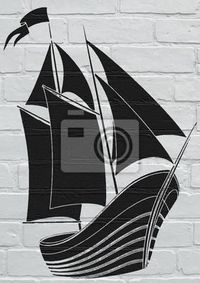 arte de la calle voilier