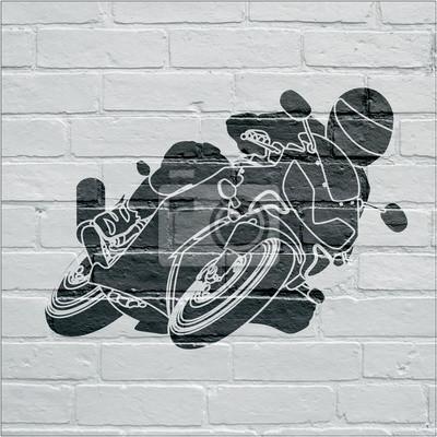 Arte urbain, moto