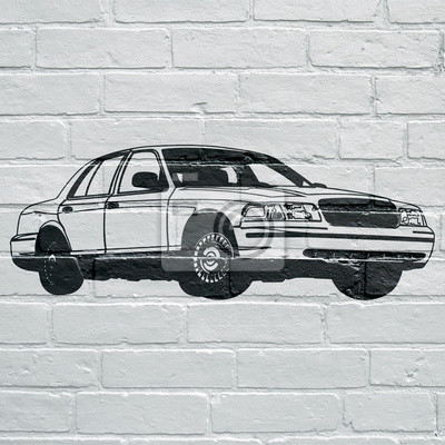 Arte urbain, voiture