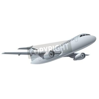 Póster Avión a reacción