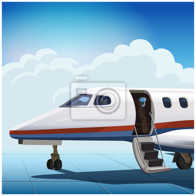 Avión de negocios