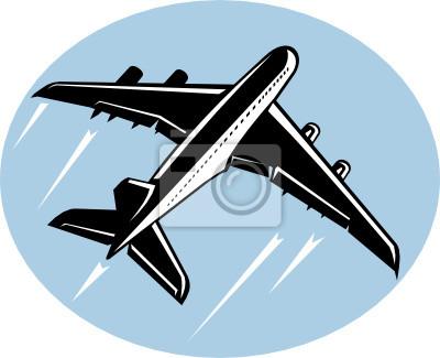 Avión de pasajeros del Jumbo