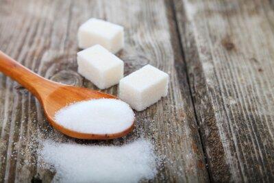 Póster Azúcar en una cuchara