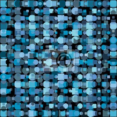 33eddcb607315 Azul formas geométricas fondo abstracto carteles para la pared ...