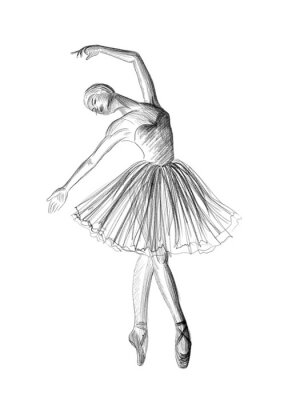Póster Bailarina