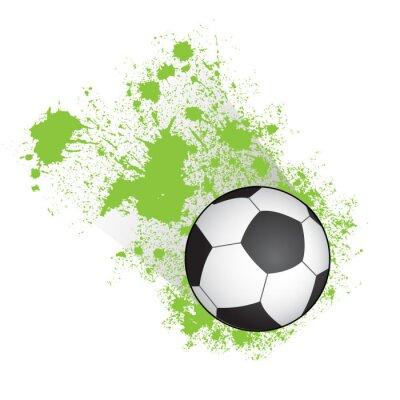 Póster Balón de fútbol
