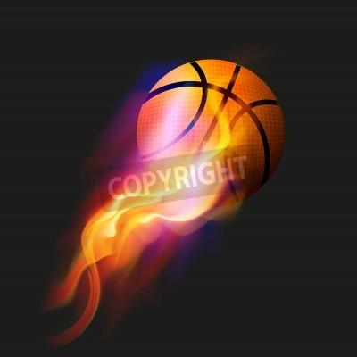 Póster Baloncesto Fireball