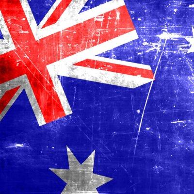 Póster Bandera de Australia
