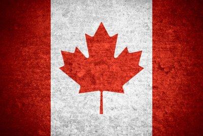 Póster Bandera de Canadá