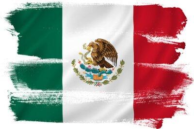Póster Bandera de México